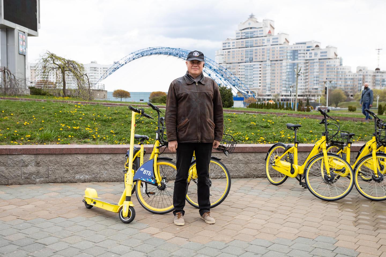 Электровелосипеды Колобайк появились на улицах Минска